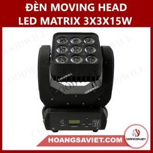 Đèn Moving Head Led Matrix 3X3X15W