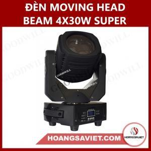 Đèn Moving Head Beam 4X30W Super