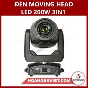 Đèn Moving Head Led 200W 3IN1