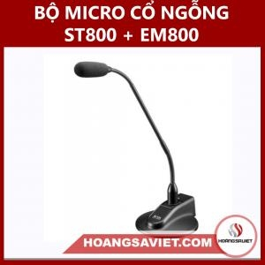 Bộ Micro Cổ Ngỗng ST 800 + EM 800