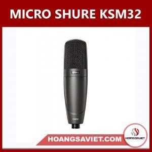 Micro Thu Âm Shure KSM32