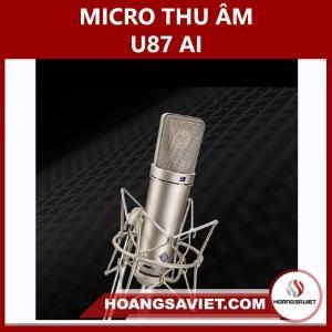 Micro Thu Âm U87AI