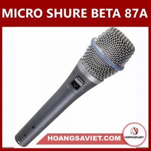 Micro Shure Beta 87A