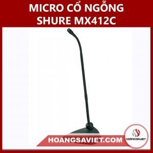 Micro Cổ Ngỗng Shure MX412/C