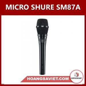 Micro Shure SM87A