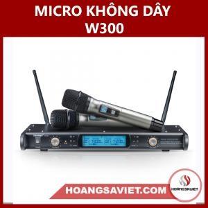 Micro Không Dây W-300