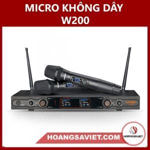 Micro Không Dây W-200