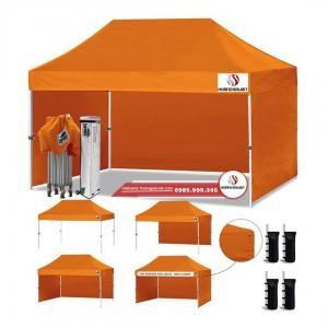 Lều Bạt Cao Cấp 3x4.5m (Khung Nhôm)