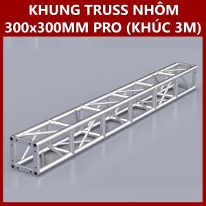 Khung Truss Nhôm 300x300mm (Khúc 3m) VS3030BP_3m