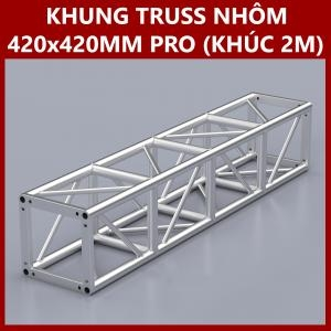 Khung Truss Hợp Kim Nhôm 420x420mm (Khúc 2 M) VS4242BP_2.0m