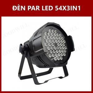 Đèn Par Led 54X3IN1
